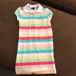 Girls Knit TH dress Sz M
